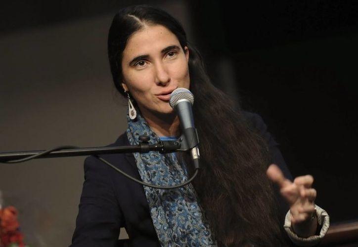 Yoani Sánchez ha visitado ya países como Brasil, República Checa, España o México. (EFE)