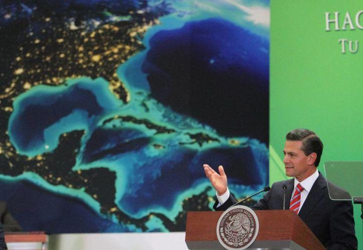 De acuerdo con Peña Nieto, al iniciar 2015 bajaron las tarifas para hogares y negocios. (Archivo/Notimex)