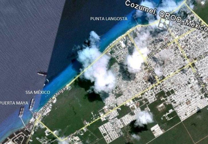 Proyectan cuarto muelle de cruceros en la zona norte de la isla. (Gustavo Villegas/SIPSE)
