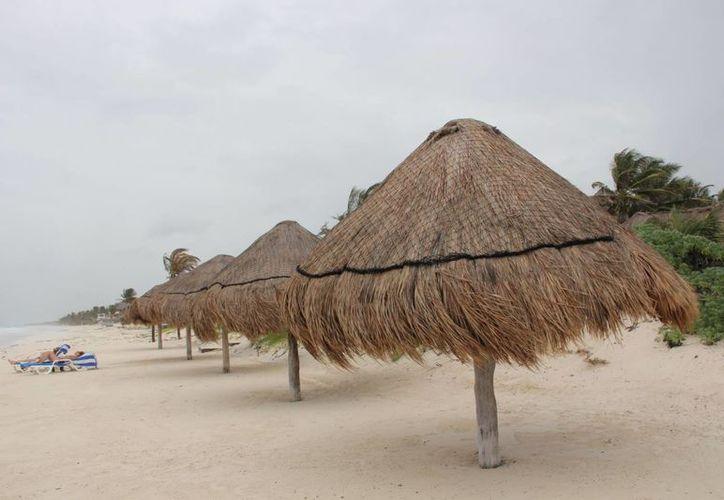 Piden colocación de botes de basura en las playas del municipio. (Rossy López/SIPSE)