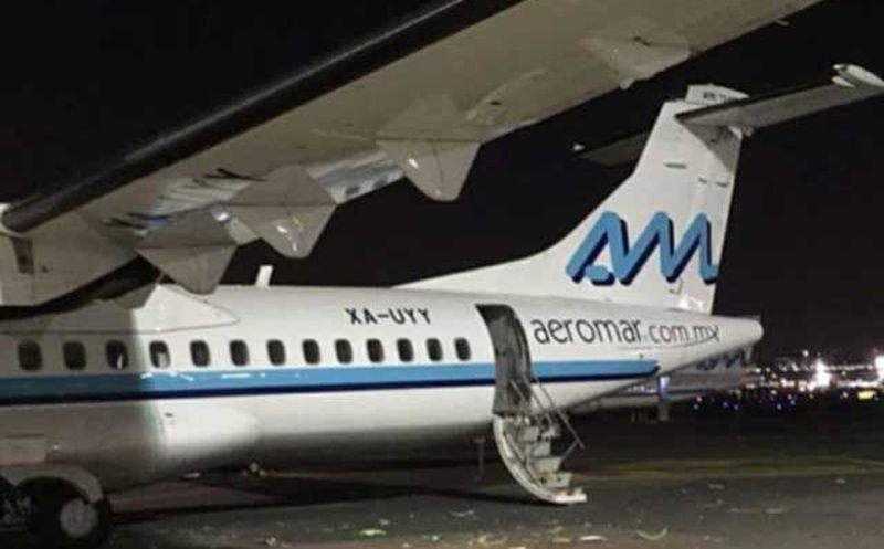 Chocan dos aviones en Aeropuerto de CDMX