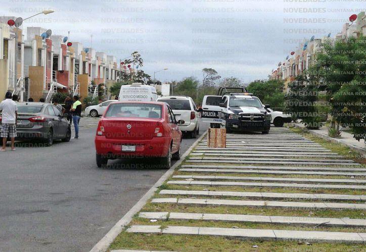 El suceso se dio en el fraccionamiento 'Ciudad Natura'. (Orville Peralta/SIPSE)
