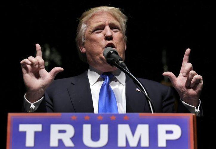 Contra todo pronóstico, Donald Trump es actualmente el último aspirante de pie, virtual candidato republicano a las elecciones generales de noviembre. (AP)