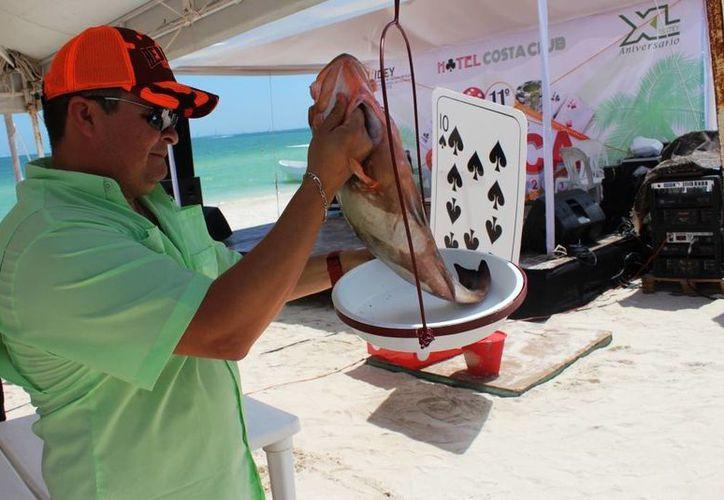 El XI Torneo de Pesca del Isstey se realizó este fin de semana en el Centro Vacacional Costa Club. (Milenio Novedades)