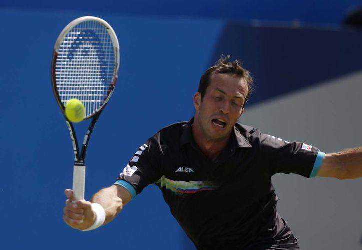 Stepanek (en la foto), de 35 años, derrotó a Murray por segunda vez en siete enfrentamientos. (Foto: AP)