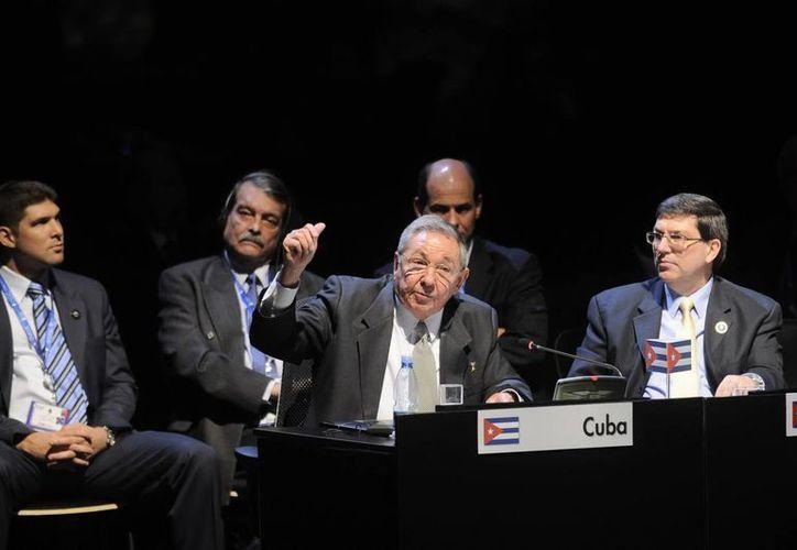 Sesión plenaria de la Cumbre de la Comunidad de Estados Latinoamericanos y Caribeños (Celac). (EFE)