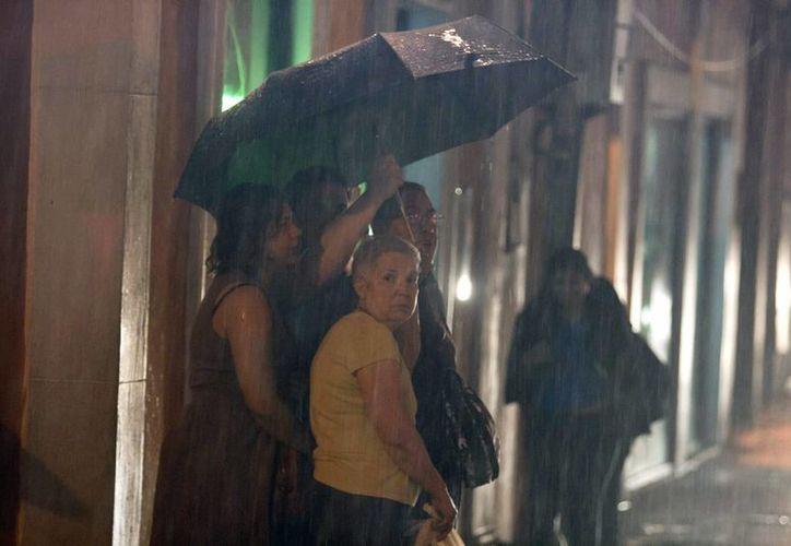 Nayarit, Jalisco y Colima registrarán lluvias intensas, según pronóstico del SMN. (Notimex)