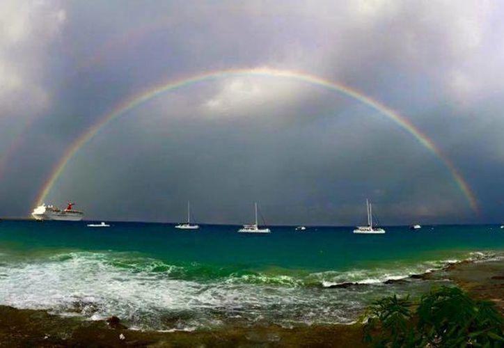 Llegaron cuatro cruceros al destino turístico. (Cortesía/Guadalupe Zetina)