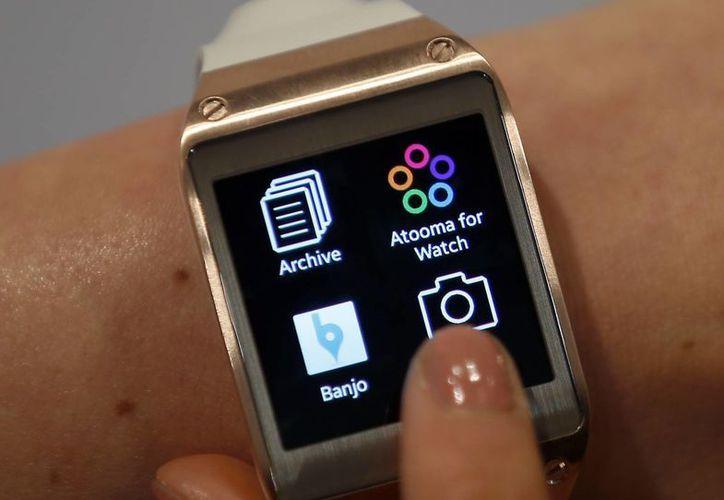 Muchos fabricantes ven la oportunidad de entrar al mercado con un smartwatc. (Agencias)