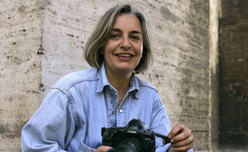 Fotografía del 23 de mayo de 2008 que muestra a la fotógrafa alemana Anja Niedringhaus, asesinada en Afganistán este viernes. (EFE/Archivo)