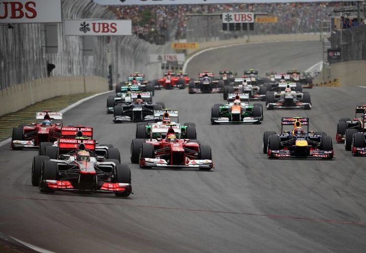 Las obras en la pista brasileña incluyen la ampliación de la zona de 'boxes'. (Foto: EFE)