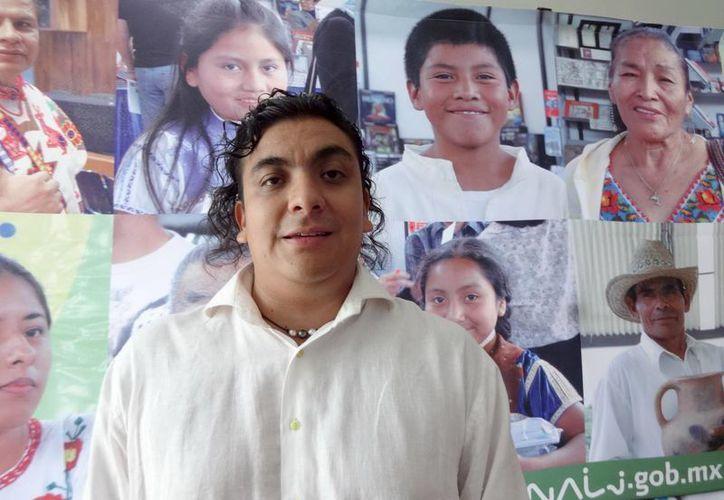 El director de Baktun, Bruno Cárcamo Arvide, destacó que el objetivo de este proyecto es empoderar la lengua maya en los medios masivos de comunicación. (Notimex)