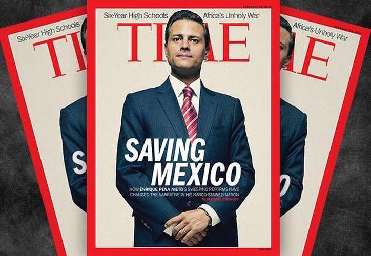 Peña Nieto aparecerá en la portada de la revista Time con motivo de la aprobación de las llamadas reformas estructurales en México. (altonivel.com.mx)