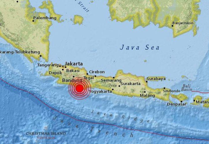 El terremoto de magnitud 6.5, ocurrió a 91 kilómetros de profundidad. (Foto: Internet)
