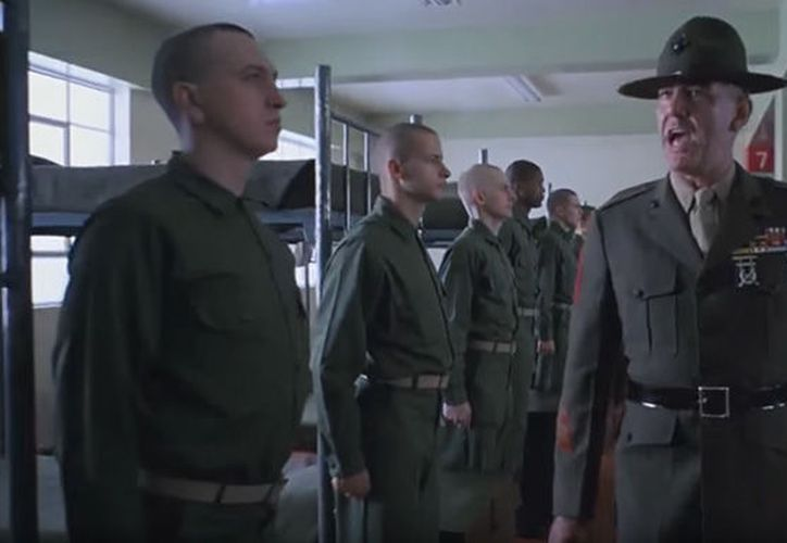 R. Lee Ermey raked in more than 60 credits in film and television. (Internet)