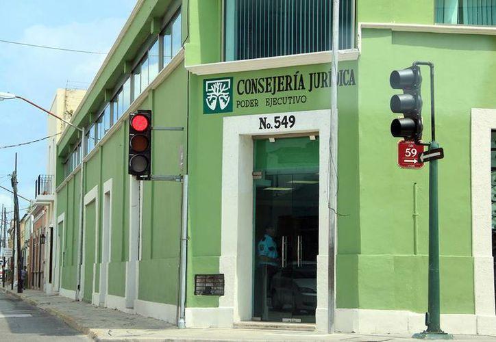 La Consejería Jurídica trabaja en varias iniciativas, entre ellas las relacionadas con el campo y de donaciones. (José Acosta/SIPSE)