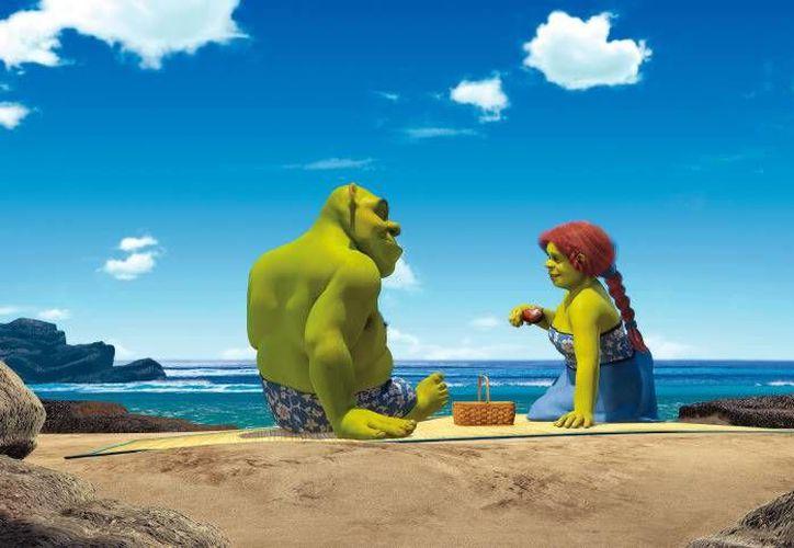 Shrek está en la lista de películas de animación más taquilleras de la historia. (Contexto)