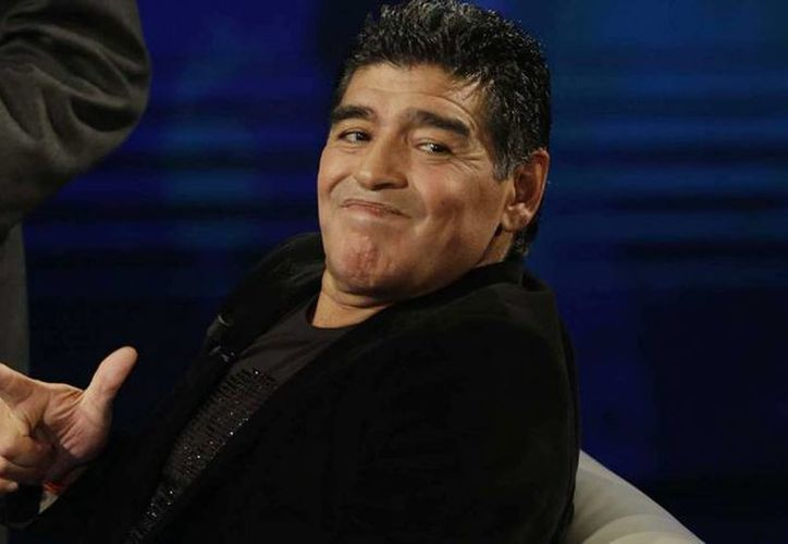 Maradona realizó una amenaza a los jugadores de la selección argentina para que ganen en la final de la Copa América. (AP)