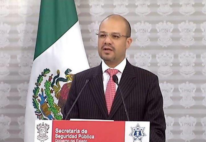 Carlos Hugo Castellanos Becerra, titular de la SSP en Michoacán, perdió a tres de sus escoltas en un percance carretero este sábado. (excelsior.com.mx)