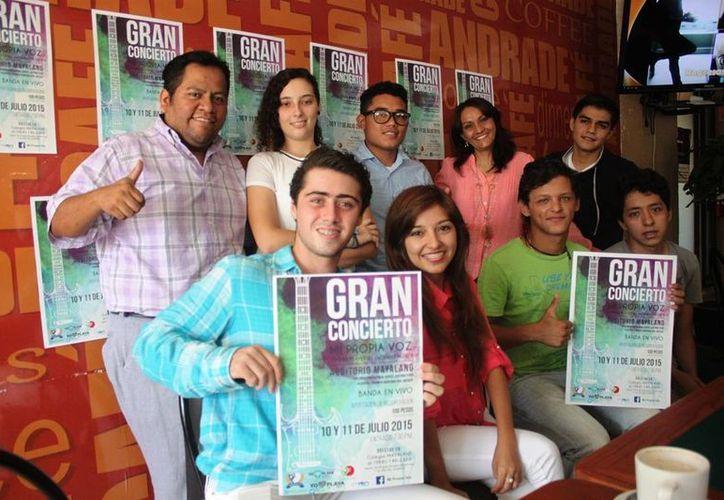 Los integrantes del proyecto 'Mi Propia Voz' ofrecerán un concierto para cerrar el curso escolar. (Daniel Pacheco/SIPSE)