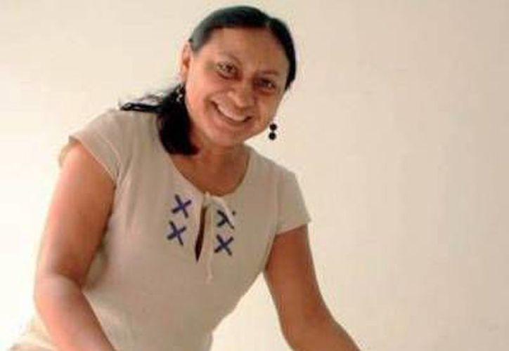 """Delfina Castillo, dirigente de la cooperativa """"Semilla de Dioses"""". (Milenio Novedades)"""