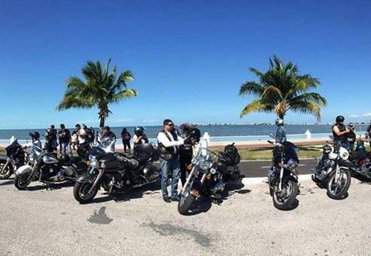 La actividad del grupo Hermandad Biker se realizará el 29 y 30 de mayo en el malecón de Progreso. (Milenio Novedades)