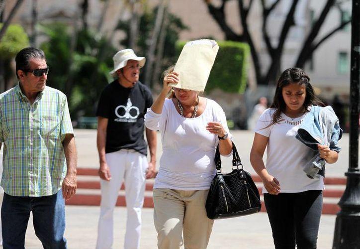 Este martes se registraron 37 grados en Mérida. Se trata de la temperatura más alta en lo que va del año. (Milenio Novedades)