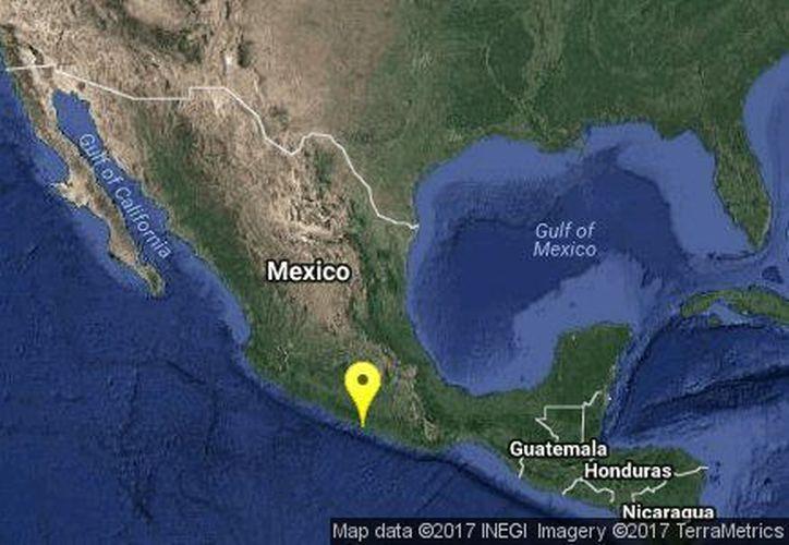El epicentro del sismo se resgitró a 7 kilómetros de Acapulco, Guerrero. (Sismológico Nacional)