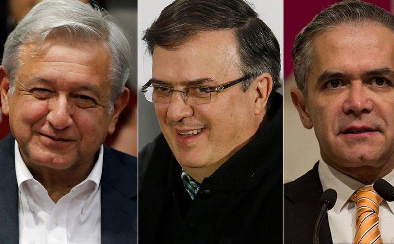 AMLO, Ebrard y Mancera coincidieron en un hotel en Nayarit. (Foto: Cuartoscuro)