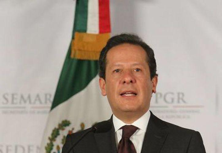 Eduardo Sánchez, invita a medios a prohibición de difundir los logros del gobierno federal en los 14 estados en se celebrarán comicios. (Notimex)
