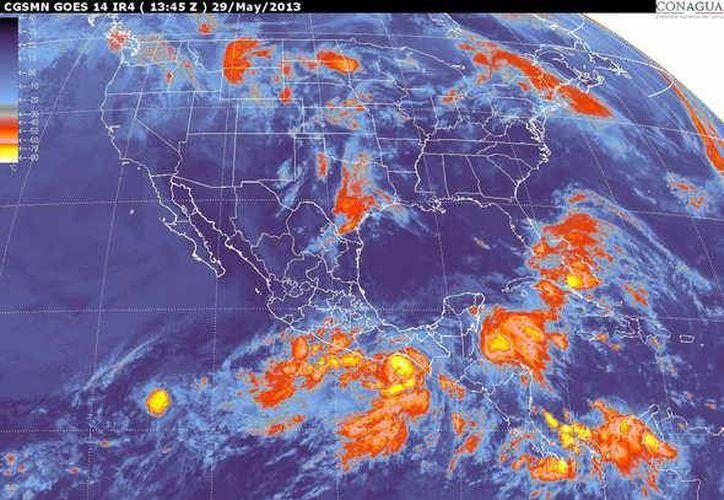 oplarán vientos del este y noreste de 30 a 50 km/h. (smn.cna.gob.mx)