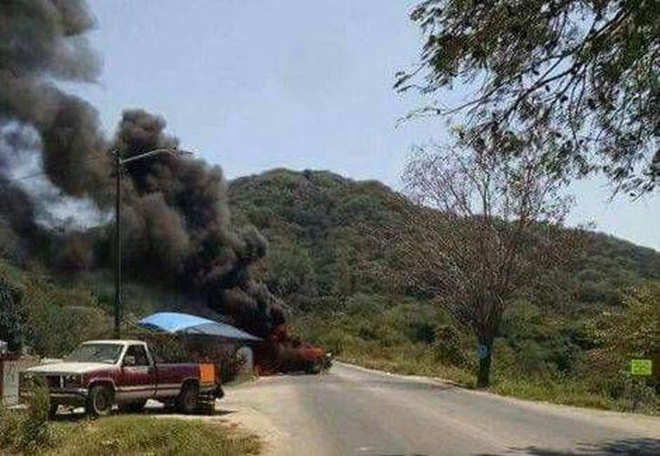 Se reportaron bloqueos en carreteras de la zona conocida como Las Palmas, en Jalisco. (Milenio)