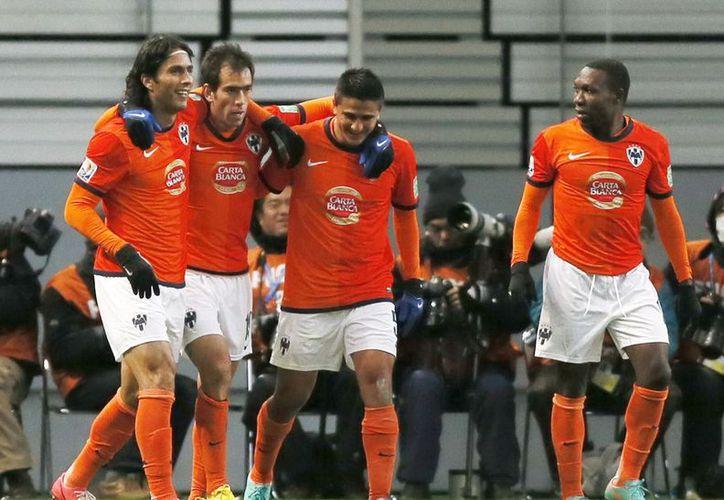 Monterrey dominó de principio a fin el partido y eso se reflejó en el marcador final. (EFE)