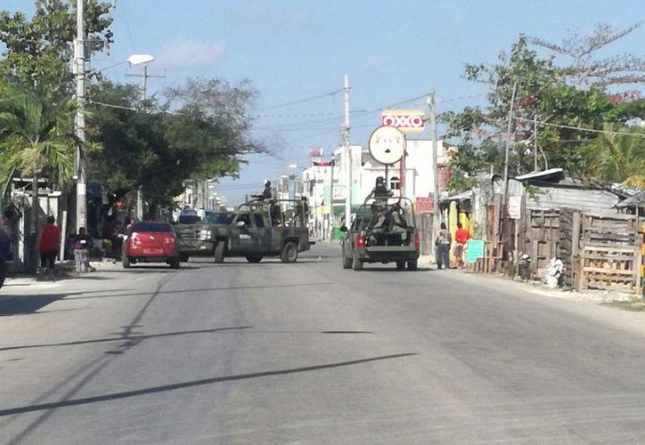 El policía con clave 'Roble' fue atacado a balazos el pasado miércoles, en Cancún. (Redacción/SIPSE)