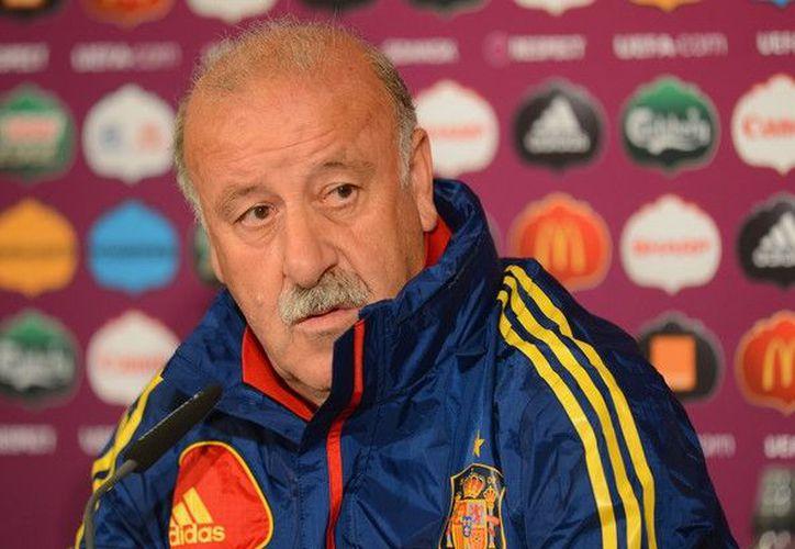 Del Bosque aseguró que se quedó con un mal sabor de boca tras la actuación de España en la pasada edición del torneo. (Foto: Zimbio.com)