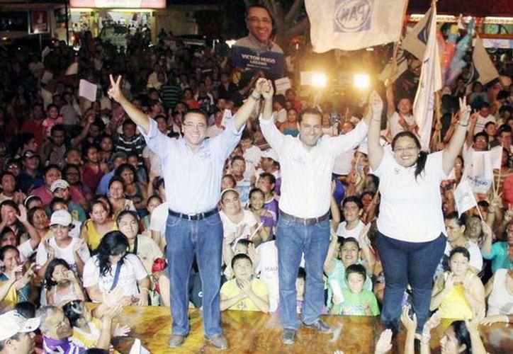 'Los malos gobiernos no sólo duran tres o seis años, sino que dejan secuelas para muchos más', dijo Mauricio Vila Dosal, candidato del PAN a la alcaldía de Mérida. (SIPSE)