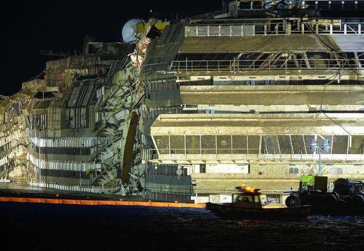 El proyecto de reciclaje del crucero Costa Concordia constará de 4 etapas. (nacion.com)