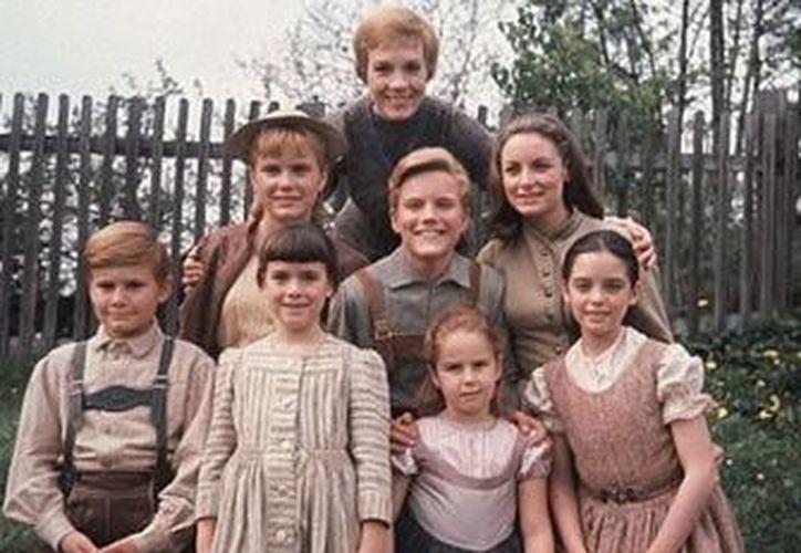 'La novicia rebelde' (1965) es otro filme visto en Navidad por los británicos. (blogspot.com)