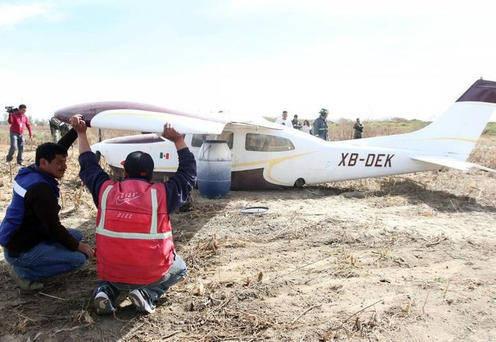 La avioneta se desplomó en Ameca, Jalisco. (foto de contexto Notimex)