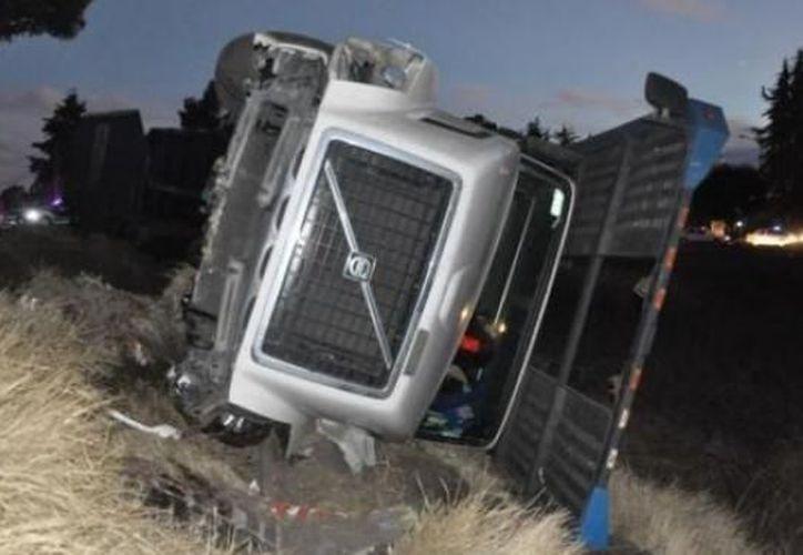 En el accidente murió uno de los choferes. (MX Político)