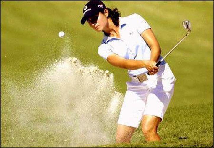 La multipremiada golfista jalisciense encabeza la lista de invitados especiales del torneo.  (Notimex)