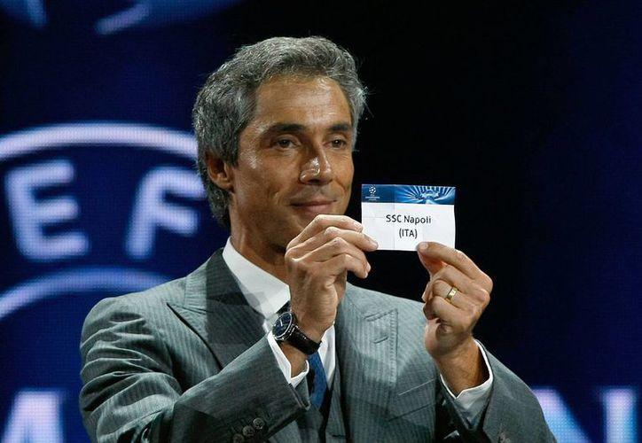 El exjugador y entrenador portugués Paulo Sousa da a conocer que el Nápoles jugará en el Grupo G. (Agencias)