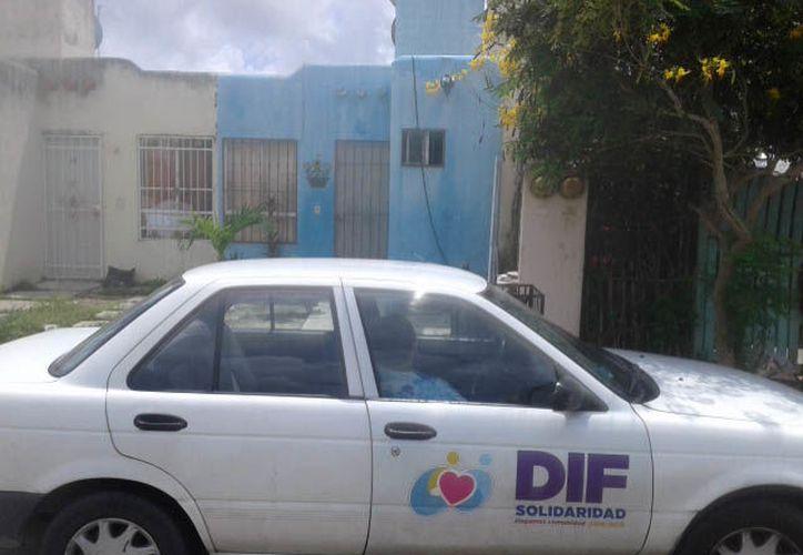 El caso fue reportado por vecinos de la zona en redes sociales y ha sido atendido por el Desarrollo Integral de la Familia. (DIF)(Adrián Barreto/SIPSE)