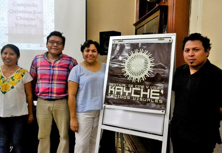 El Festival Kayché se realiza cada dos años con fin de ser una ventana de trabajos independientes en el área de cine y video de Yucatán.(Milenio Novedades)