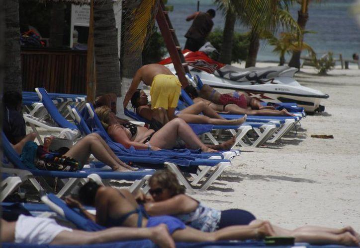 Las ocupaciones hoteleras registran un promedio de 87%. (Israel Leal/SIPSE)