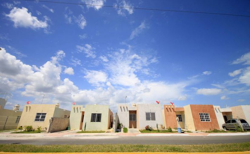 El fraccionamiento cuenta con 278 casas construidas de las 300 que debe tener la propia zona habitacional. (Redacción/SIPSE)
