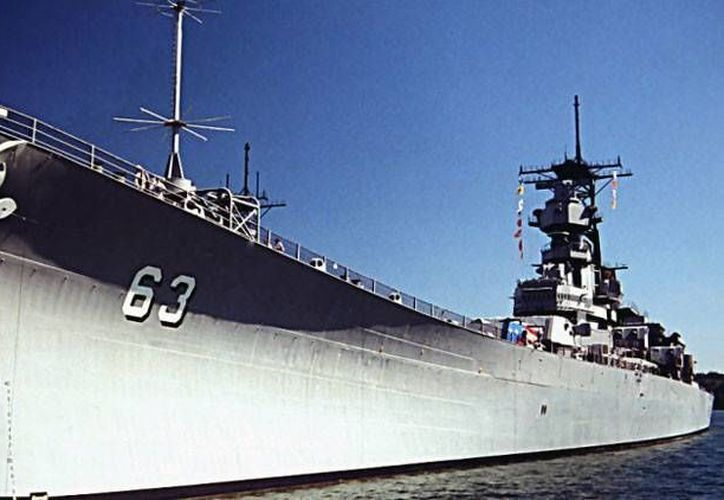 Imagen de contexto del acorazado USS Missouri. (Foto:Wikimedia Commons/Richard Brown)