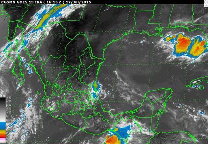 Se informó que la tormenta tropical traerá oleaje elevado de dos a cuatro metros en Baja California Sur y de uno a tres metros en Nayarit y Sinaloa. (smn.cna.gob.mx)