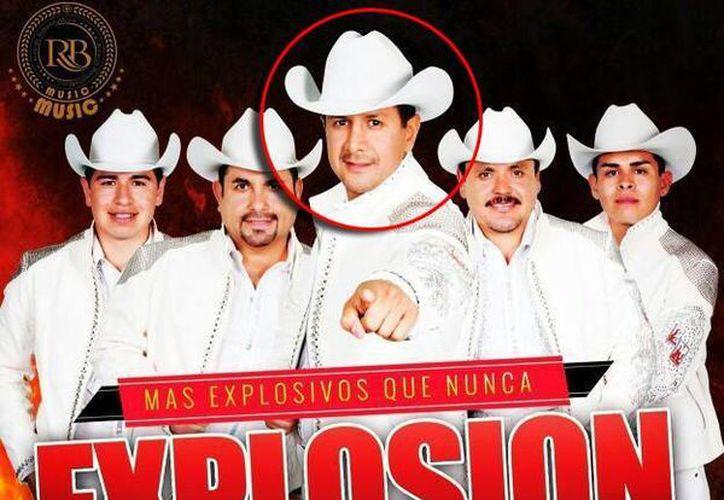 José Alberto Cervantes Nieto, alias 'El Beto', vocalista y compositor del grupo musical 'Explosión Norteña', ya había sido atacado por desconocidos a balazos en noviembre de 2006. (Facebook Explosion Norteña)