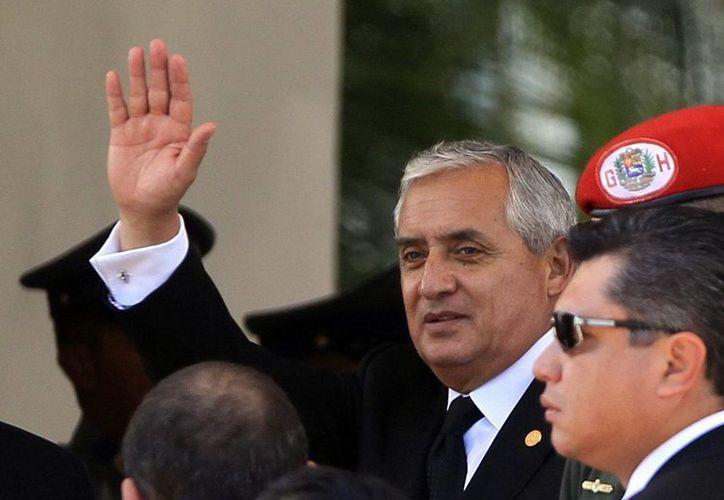 Otto Pérez Molina optó por guardar silencio. (EFE)